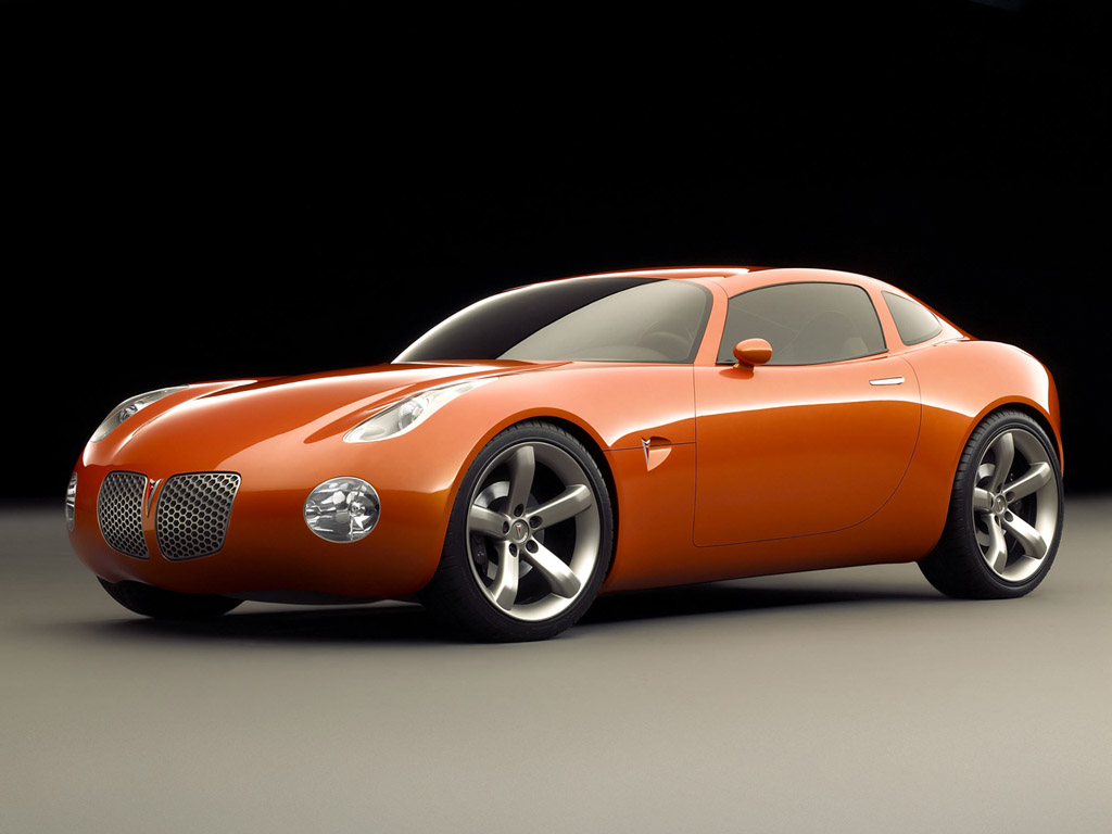 pontiac solstice coupe outline