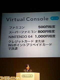 Nintendo Wii Virtual Console prices