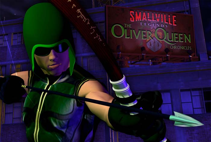 Smallville Legends - The Oliver Queen Chronicles