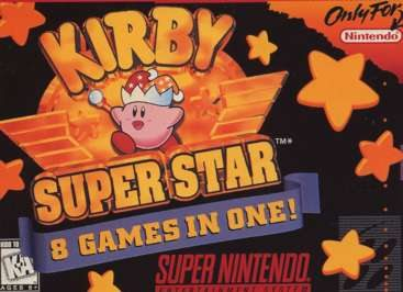 one of the last great super nintendo platformers kirby super star