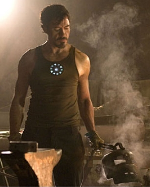 Iron Man Movie - Tony Stark - First Look Cropped