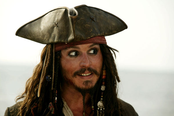 "Depp and Rush say ""Yes"" to more Pirates"