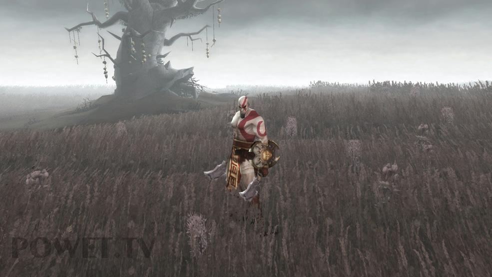 God of War PSP Exclusive Concept Art - POWET TV: Games, Comics, TV