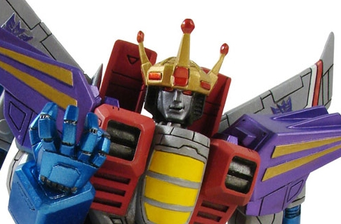 Coronation Starscream Bust Post Banner