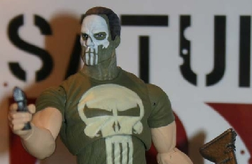 Hasbro Marvel Legends Wave 4 Punisher Variant Post Banner