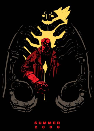 Hellboy 2 Limited Edition Poster