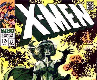 X-Men 50 Cover - November 1968 Post Banner