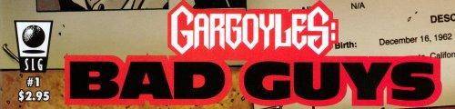 Gargoyles: Bad Guys Comic Number 1