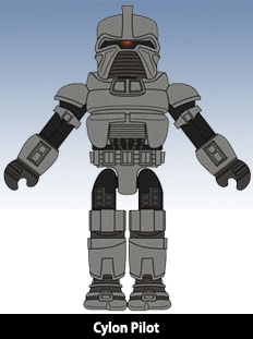 Minimates BSG Razor Design Art 2 Post Banner