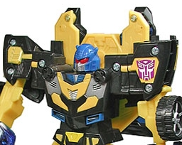 Botcon 2008 Exclusive Goldbug Post Banner