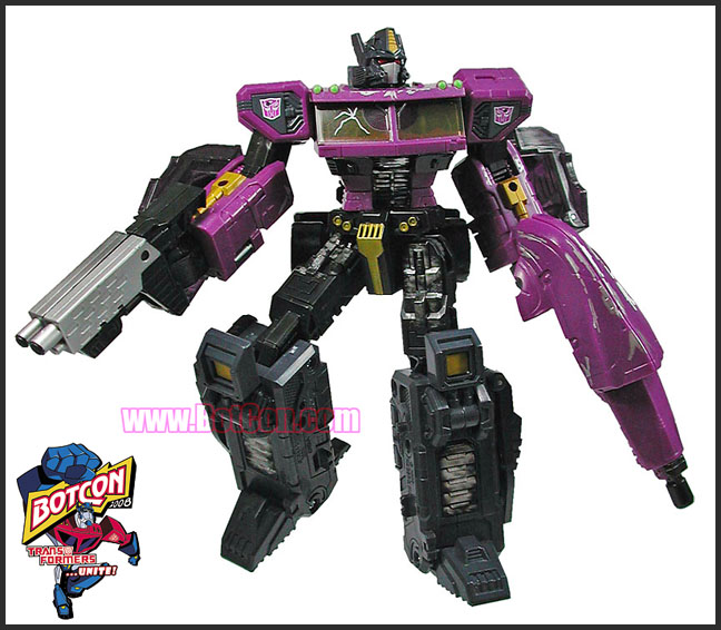 Botcon 2008 Exclusive Optimus Prime
