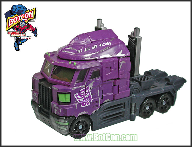 Botcon 2008 Exclusive Optimus Prime Alt mode
