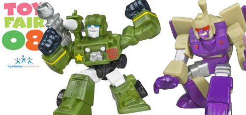 ToyFair 2008 Robot Heroes Banner