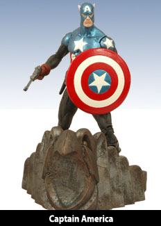 DST Marvel Select Captain America (Bucky)