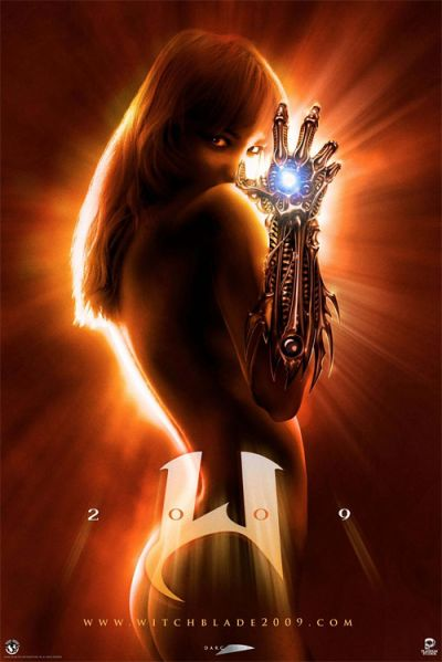 Witchblade teaser movie poster