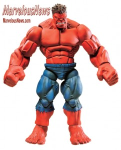 Hasbro Marvel Legends Red Hulk BAF