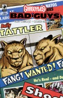 Gargoyles Bad Guys Issue #4 Cover