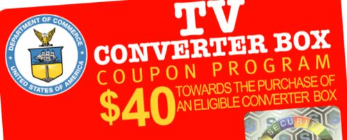 Digital TV Convert Box Coupon