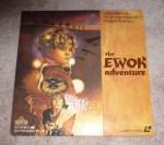 The Ewok Adventure laser disc cover
