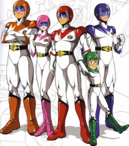 Voltron Pilots Hunk, Allura, Keith, Pidge and Lance