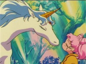 ChibiUsa kissing Pegasus