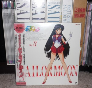 Sailor Moon laserdiscs