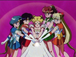 Sailor Moon first season finale