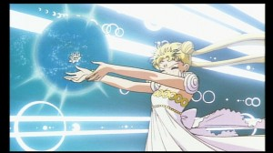Princess Serenity from the Sailor Moon R movie