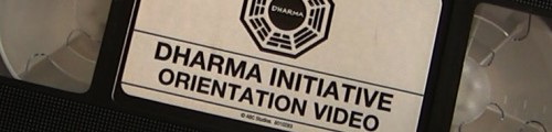 Lost Season 5 Dharma Initiative Orientation Kit Banner
