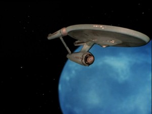 NCC-1701.  No blody A, B, C, or D