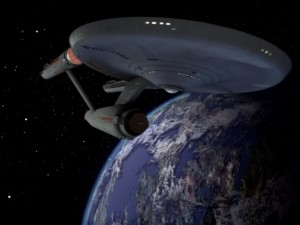USS Enterprise NCC 1701 from the old show perverted by new effects