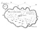 Map of Laputa and Balnibarbi