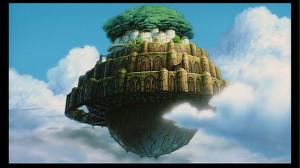 Laputa from Hayao Miyazaki's Laputa: Castle in the Sky