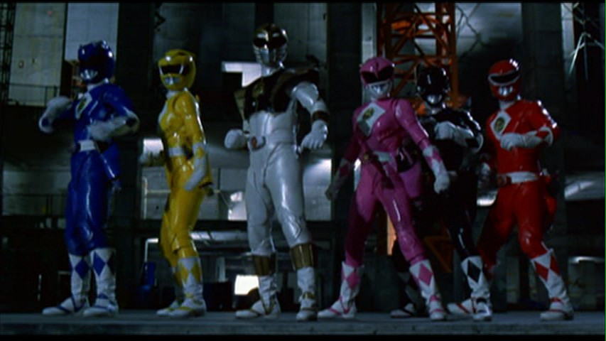 Powet Alphabet M Is For Mighty Morphin Power Rangers