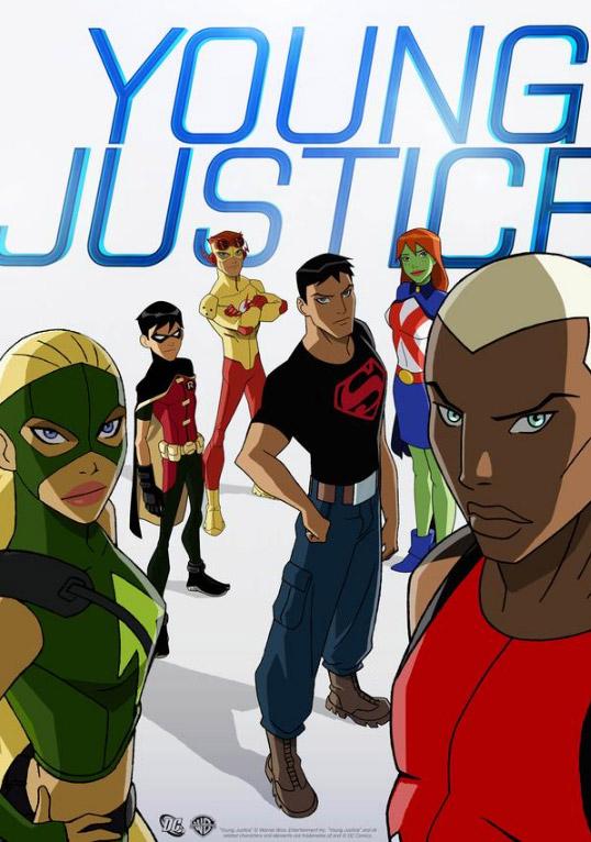 NUEVA SERIE DE DC COMICS Y WB  Youngjustice