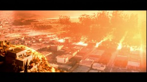 Los Angeles being destroyed on Judgment Day August 29th 1997