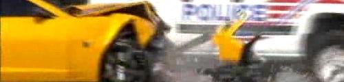 Bumblebee Camaro Smashed During Filming of Transformers 3