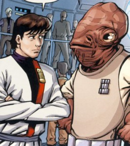 Ackbar and Wedge Antilles from some EU shit