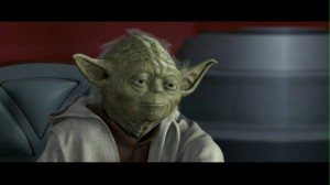 Yoda in Star Wars: Episode II: Attack of the Clone