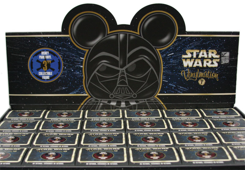 Disney is releasing a series of Star Wars figures in their vinylmation line.