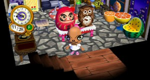 Admiral Ackbar mask in Animal Crossing