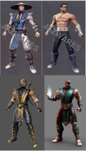 Mortal Kombat 2011 Toy Renders