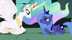 My Little Pony: Friendship is Magic - Princess Celestia and Princess Luna