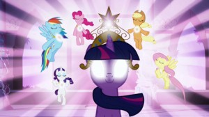 My Little Pony: Friendship is Magic - Epic Battle with Nightmare Moon