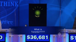 Watson the IBM computer loses Final Jeopardy! by thinking Toronto is a U.S. City