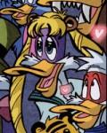 Darkwing Duck as Sailor Moon