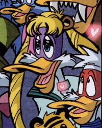 Darkwing Duck as Sailor Moon