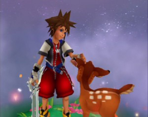 Kingdom Hearts - Sora and Bambi