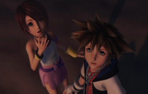 Kingdom Hearts 2 - Sora as Simba from the Lion King