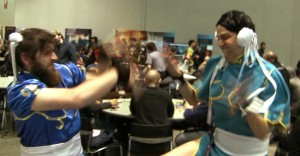 Beard Li fights Hung Li at PAX East 2011
